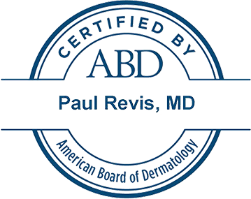 Certified by American Board of Dermatology
